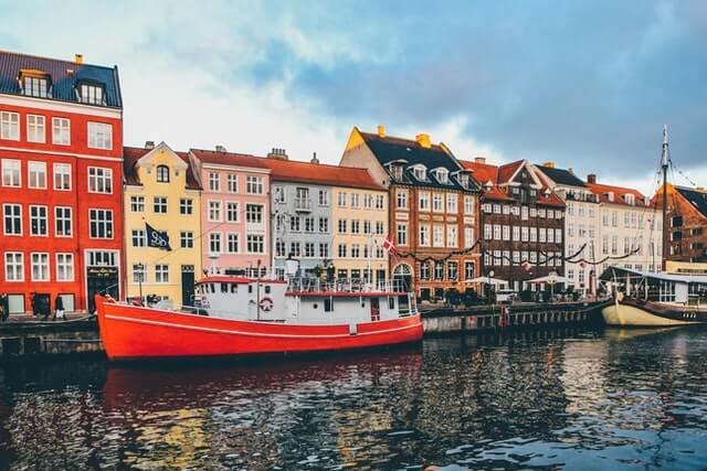 Copenhagen Street Scene Canal